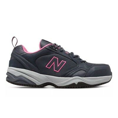 New Balance Industrial 627 Steel Toe Work Sneaker Gray Shoes Womens SIZE 7.5