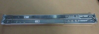 Dell PowerEdge R610 1U Full Rapid Rails Sliding Rail Kit R137J N915J *104