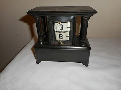 Unusual, Ticket / Flip Clock in Very good Condition but Requires Attention.