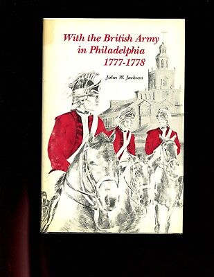 With the British Army in Philadelphia, 1777-1778, Jackson, 1st US VG, HBdj