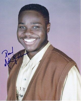 Malcolm-Jamal Warner Signed Autographed 8x10 The Cosby Show Theo Photograph