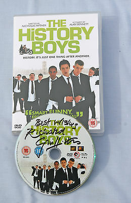 The History Boys. DVD. Signed on DVD by Richard Griffiths + associated letter