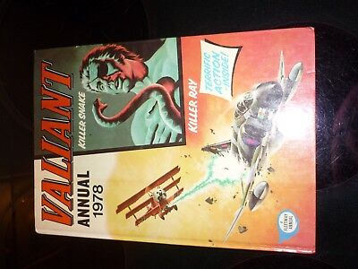 Valiant 1978 Annual unclipped In amazing Condition