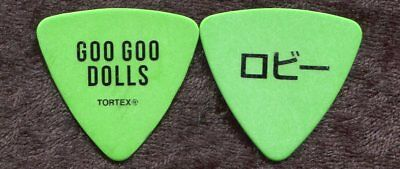 GOO GOO DOLLS 2016 Boxes Tour Guitar Pick!!! ROBBY TAKAC custom concert stage #2