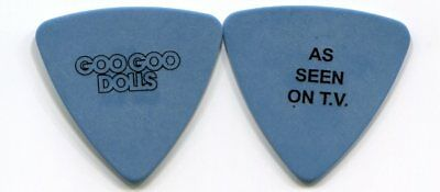 GOO GOO DOLLS 2016 Boxes Tour Guitar Pick!!! ROBBY TAKAC custom concert stage #3