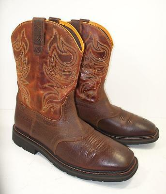 various colors meet new lifestyle MEN'S ARIAT 10021467 Sierra Shadowland Soft Toe Work Boots ...