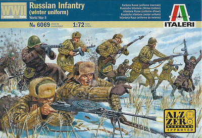 ITALERI WWII British Infantry B2004 6056 1:72 Figures Kit