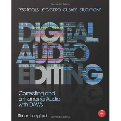 Digital Audio Editing: Correcting and Enhancing Audio i - Paperback NEW Simon La