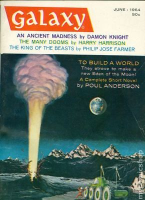 Galaxy Science Fiction (pulp/digest) #Vol. 22 #5 1964 VG- 3.5 Stock Image