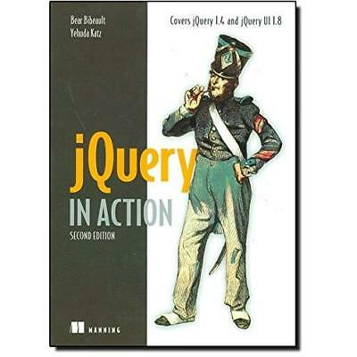 jQuery in Action, Second Edition - Paperback NEW Bibeault, Bear 2010-07-08