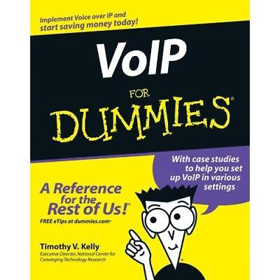 VoIP For Dummies - Paperback NEW Kelly, Timothy  2005-09-02