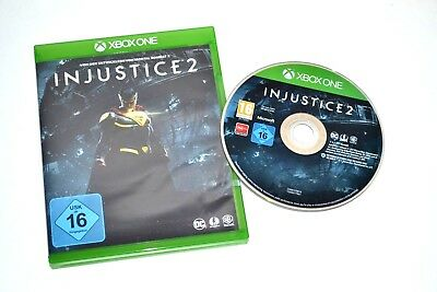 INJUSTICE 2 für XBOX ONE - DEUTSCHE VERSION - TOP GAME - NEUWERTIG !