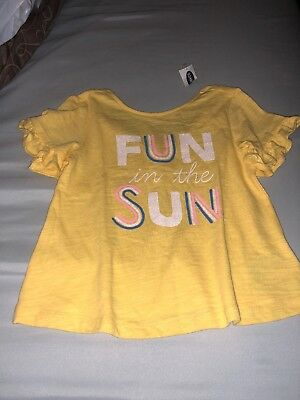 NWT Old Navy Girls Fun In Sun Top Sz 3T