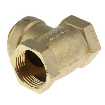 DN25 One Way Swing Check Valve, Female Thread, Brass Material, 1 Inch