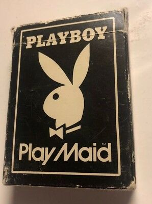 Vintage Playboy Play Maid Cards 1960s/1970s