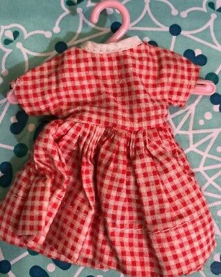 """Vintage 8"""" Betsy McCall Doll Little Cook Dress"""