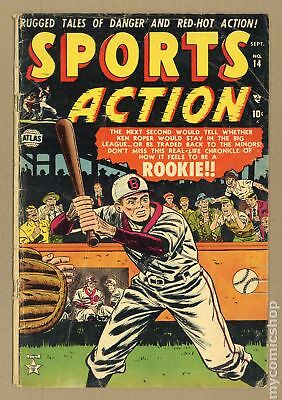 Sports Action #14 1952 GD 2.0
