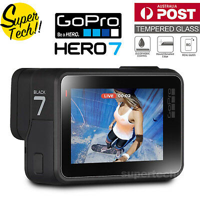 LCD Tempered Glass Screen Protector Guard Cover for GoPro Hero7 Camera Accessory