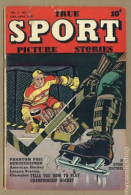 True Sport Picture Stories Vol. 4 #6 1948 GD/VG 3.0