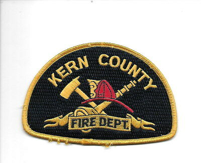 Kern County California FIRE Dept. patch
