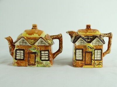 Pair of Old Price Brothers Cottage Ware Tea & Coffee Pots Made in England