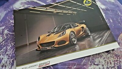 Lotus Elise 260 Cup Sales Sheet - 2 sides