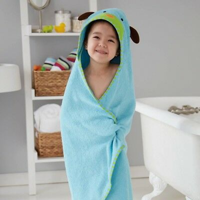 New Skip Hop Dog 100% Cotton Terry Hooded Baby Towel