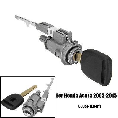 Ignition Switch Cylinder Lock w/ Key 06351-TE0-A11 For Honda & Acura 2003-2015