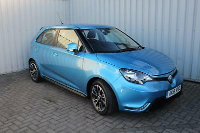 MG MG3 1.5 VTi-Tech 3Style. One lady owner and low mileage