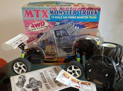 MTX MONSTER TRUCK Nitro Radio Controlled 1/8 Scale Model Car Buggy Spares  Repair