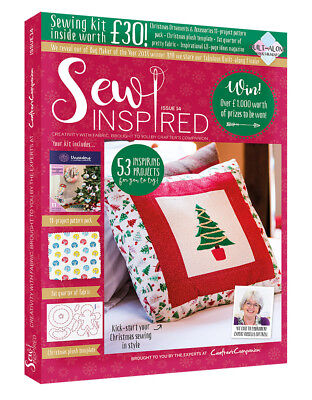 Sew Inspired Magazine Issue 14 With Free Sewing Kit Worth £30 New Winter 2018