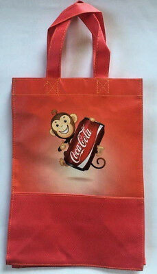 New Genuine Coca-Cola Classic Canvas Nylon Year of Monkey Bag Special Promo #4