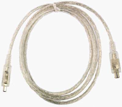 NEW MULTISOURCE FW-44-2 2M 4-PIN FIREWIRE CABLE....i.