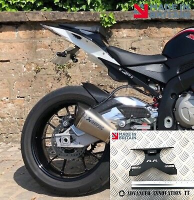 BMW S1000RR Tail Tidy 2009 - 2018 Fender Eliminato. With 'RR' Cut-Out.