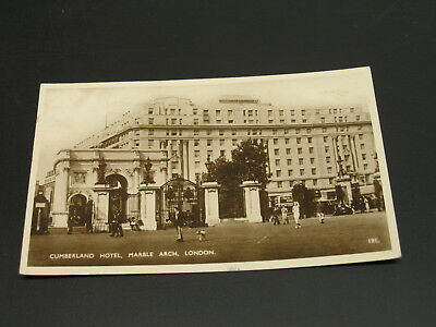 UK 1937 Cumberland Hotel postcard to Austria *3267
