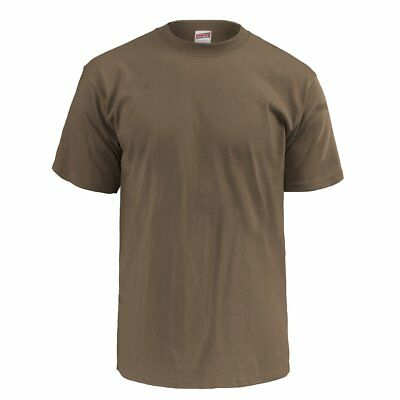Soffe 3-Pack US Navy Woodland Coyote Brown 100% Cotton T-Shirts (NWU Type III)