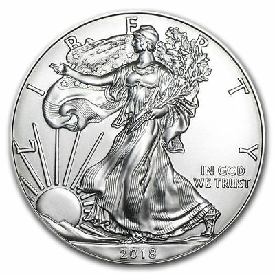 1 dollar 2018 - Silver Eagle 1 once argent silver .999 - Etat Unis USA 1 oz
