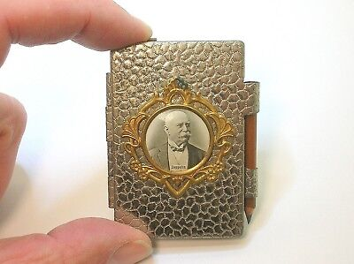 """Ultra Rare Graf Zeppelin Miniature Note Pad - 2 3/8"""" X 1 7/8"""" - Nice Condition"""