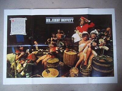 Jimmy Buffett '78 ABC Son Of A Son Of A Sailor promotional fold open poster