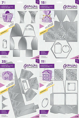 Crafters Companion - 2018 - Gemini Favour Box Dimensional Dies - Cutting Dies