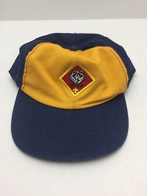 Boy Scout Cap Wolf Twill S/M (D3)
