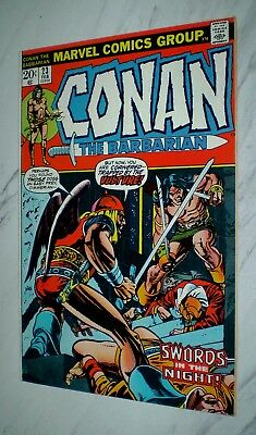 Conan the Barbarian #23 NM- 9.2 OW/W pgs Unrestored 1973 Marvel 1st Red Sonja
