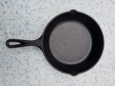 8 Inch Cast Iron Skillet Pre Seasoned Lodge Pan Kitchen Fry Bake Free Shipping