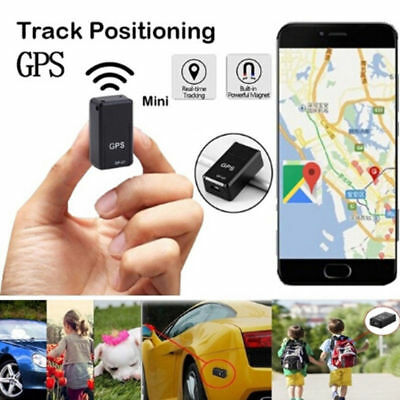 1x GF07 Mini GPS Real Time Car Locator Tracker Magnetic GSM/GPRS Tracking Device