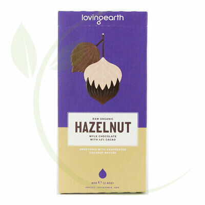 Loving Earth Hazelnut Mylk Chocolate (Organic) ~ 80gm