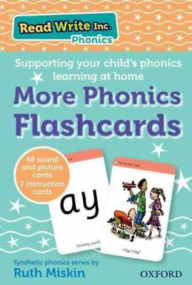 Read Write Inc. Phonics: More Phonics Flashcards by Ruth Miskin 9780198386810