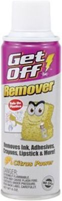 Getoff Ink And Adhesive Remover By Blowoff (1 X 6Oz Can) Removes Marker, Ink Adh