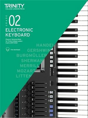 Trinity College: Electronic Keyboard Exam Pieces Grade 2 2019-2022