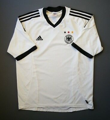 3a4201ad6 5 5 Germany soccer jersey DFB 2002 2003 home football shirt LARGE Adidas