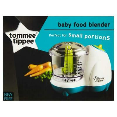 Tommee Tippee Baby Food Blender Kitchen Electric Utensil Cutter Processor New Uk